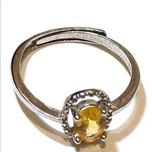 Tourmaline 925 silver ring